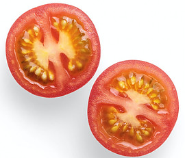 Tomato and seeds