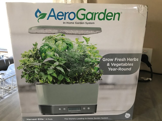 AeroGarden In-Home Garden System Packaging